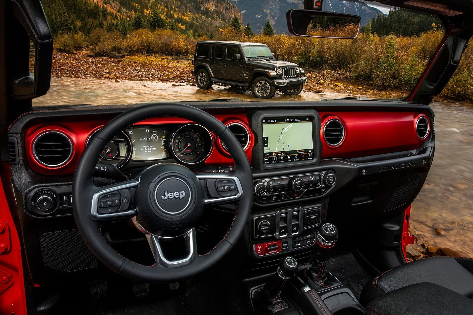 Jeep wrangler 2018 premi res photos officielles for Interieur 4l