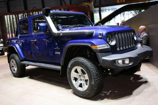 jeep wrangler 2018 le 4x4 pur et dur au salon de gen ve l 39 argus. Black Bedroom Furniture Sets. Home Design Ideas