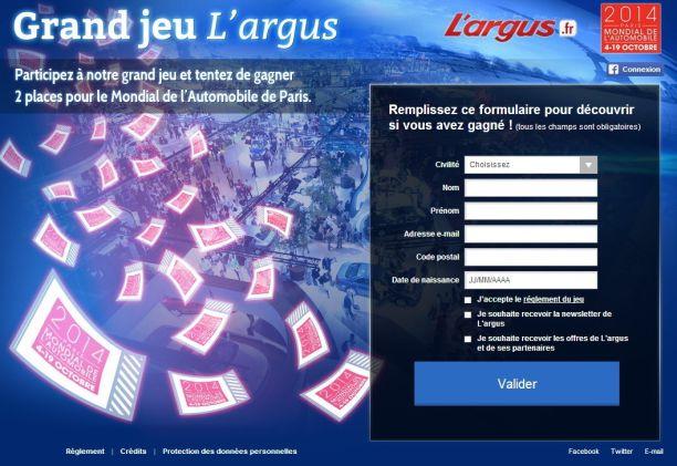 Jeu Concours Gagnez Vos Places Pour Le Mondial De L Automobile 2014