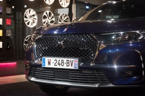 DS7 Crossback Présidentiel exposé au DS World Paris
