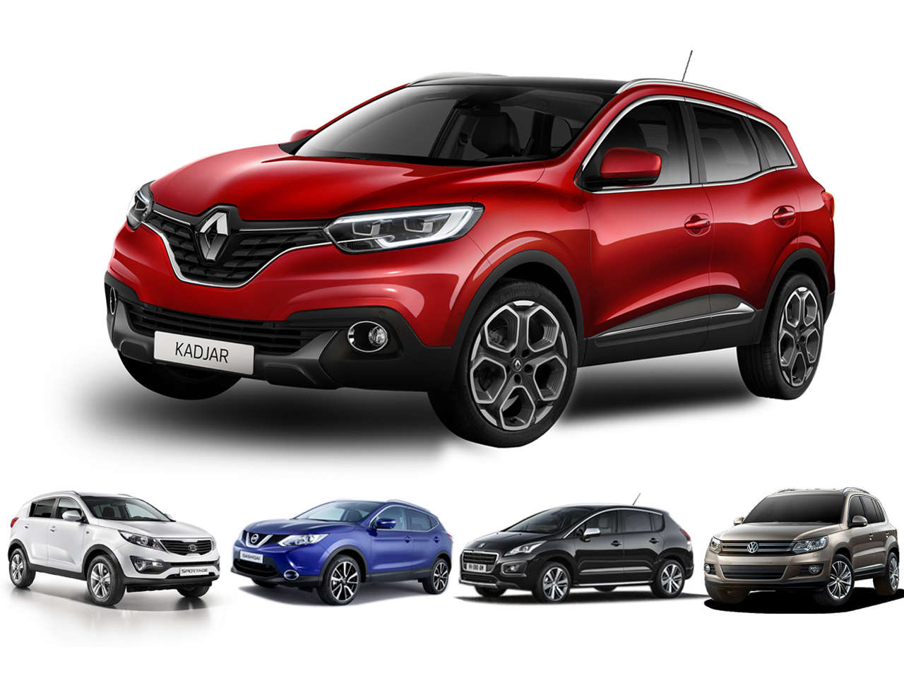 le renault kadjar face ses rivaux photo 5 l 39 argus. Black Bedroom Furniture Sets. Home Design Ideas