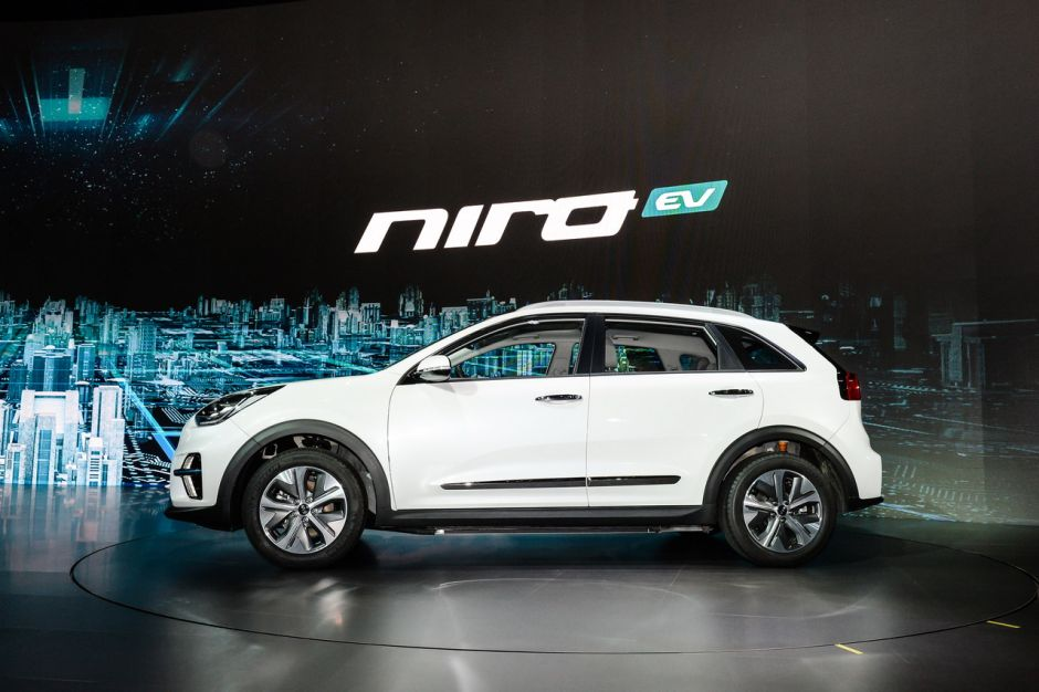 le kia niro lectrique annonce jusqu 39 450 km d 39 autonomie photo 7 l 39 argus. Black Bedroom Furniture Sets. Home Design Ideas