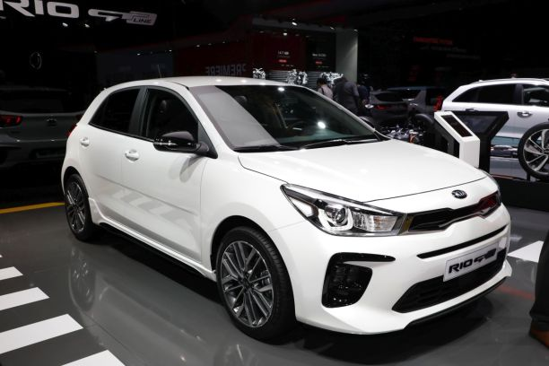 kia rio gt line 2018 le tarif d voil au salon de gen ve l 39 argus. Black Bedroom Furniture Sets. Home Design Ideas