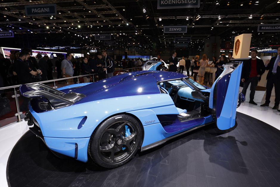 Koenigsegg Regera 2018 Juste Pour énerver Bugatti Photo 3 L