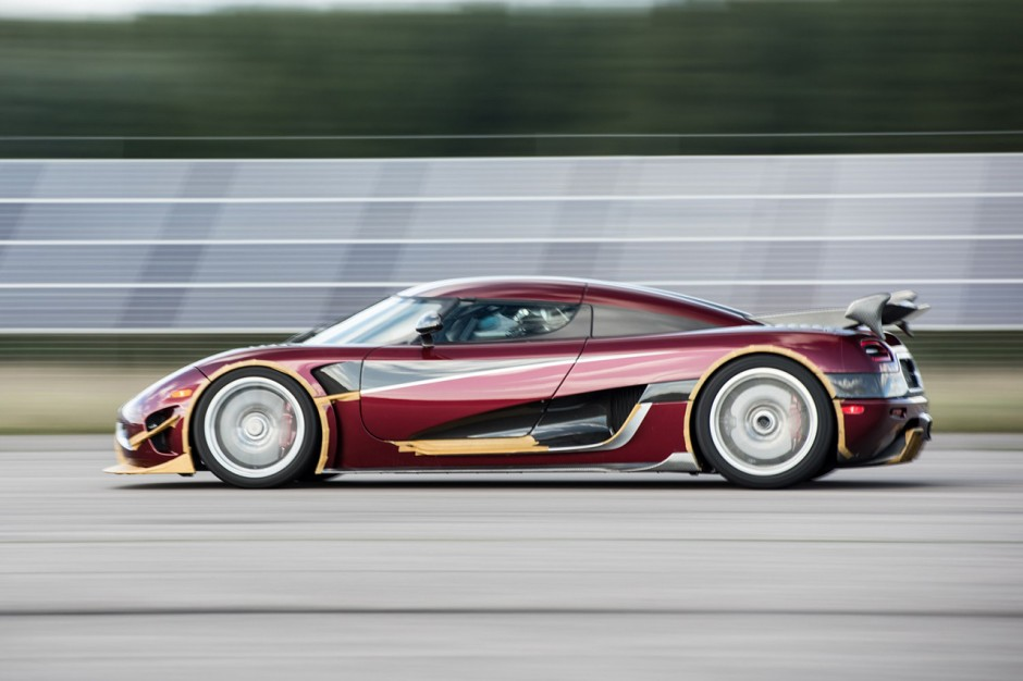 koenigsegg agera rs record de vitesse 447 km h photo 1 l 39 argus. Black Bedroom Furniture Sets. Home Design Ideas