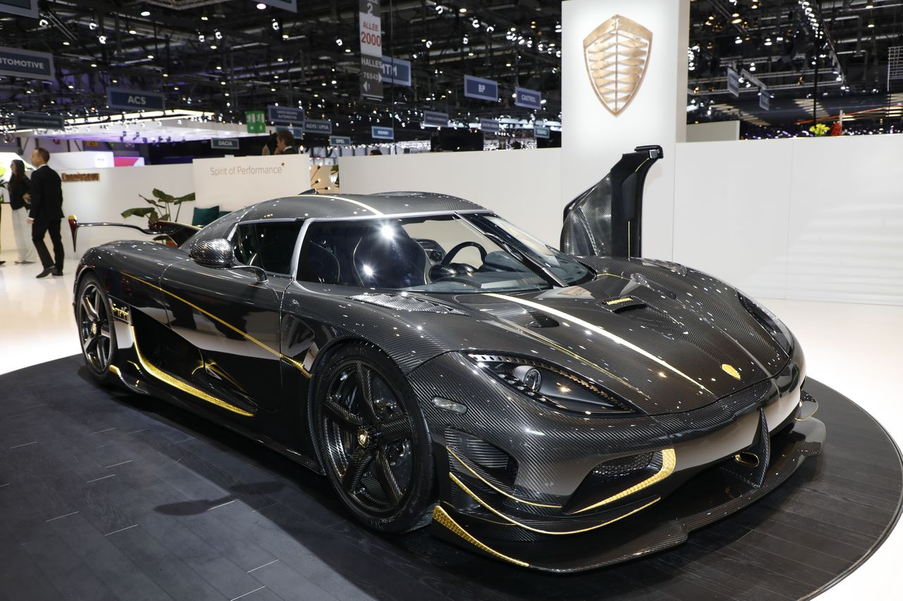 Koenigsegg Agera RS : une version Gryphon unique