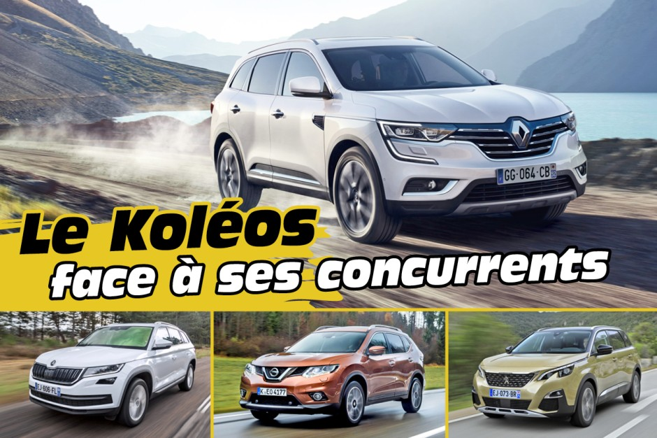 le nouveau renault koleos 2 face ses concurrents renault koleos l 39 argus. Black Bedroom Furniture Sets. Home Design Ideas