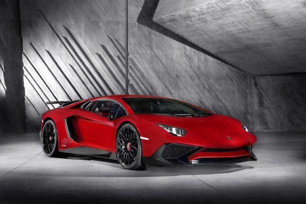 Lamborghini Aventador Lp 750 4 Sv Superveloce Pour Super Rapide
