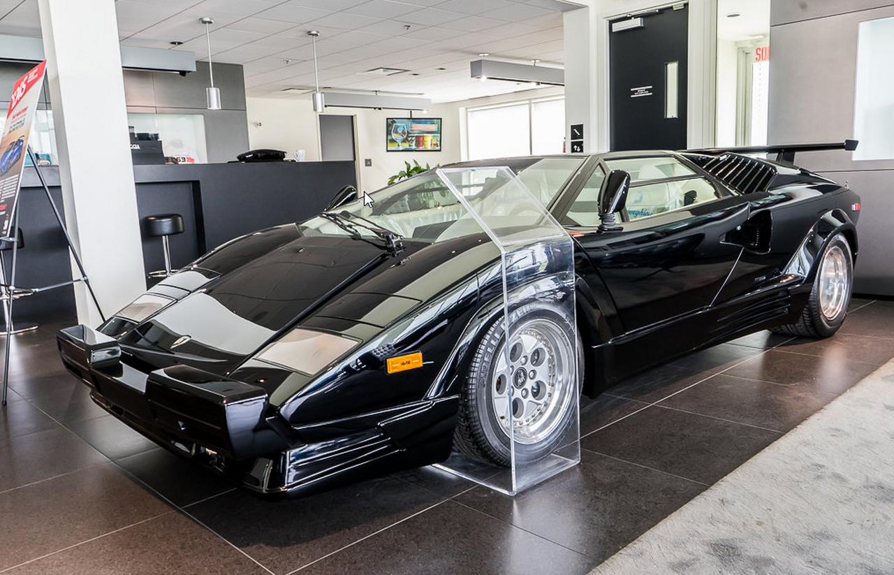 Une Lamborghini Countach quasiment neuve à vendre