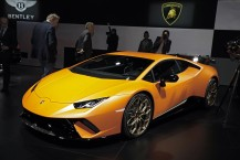Lamborghini Huracan Performante 2017 vue avant couleur orange