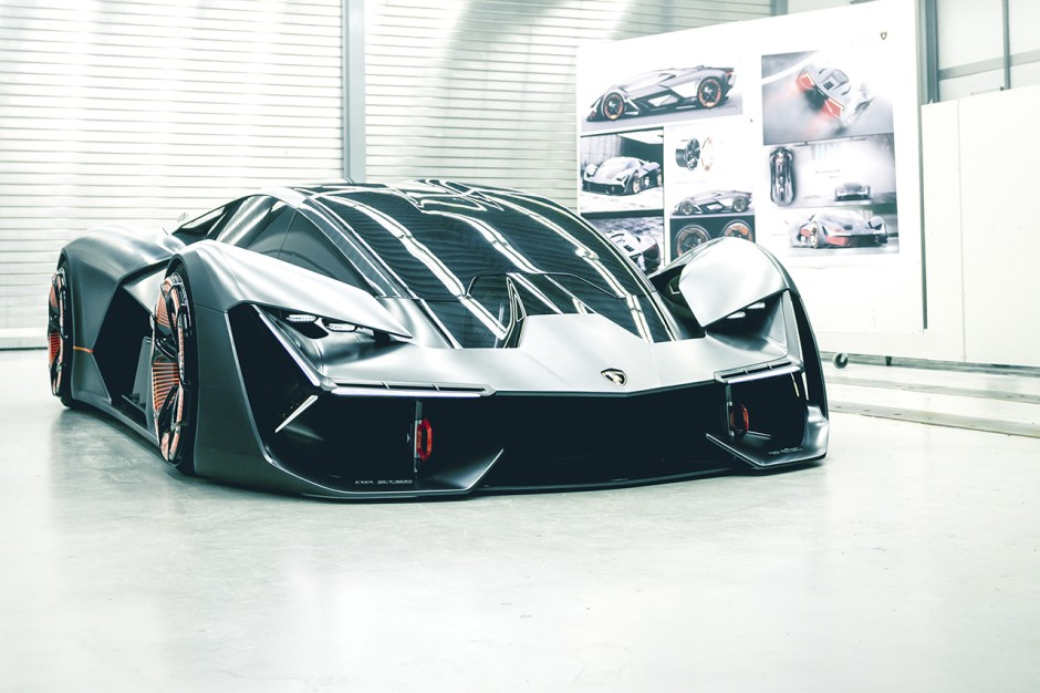 lamborghini terzo millennio la lambo du futur photo. Black Bedroom Furniture Sets. Home Design Ideas
