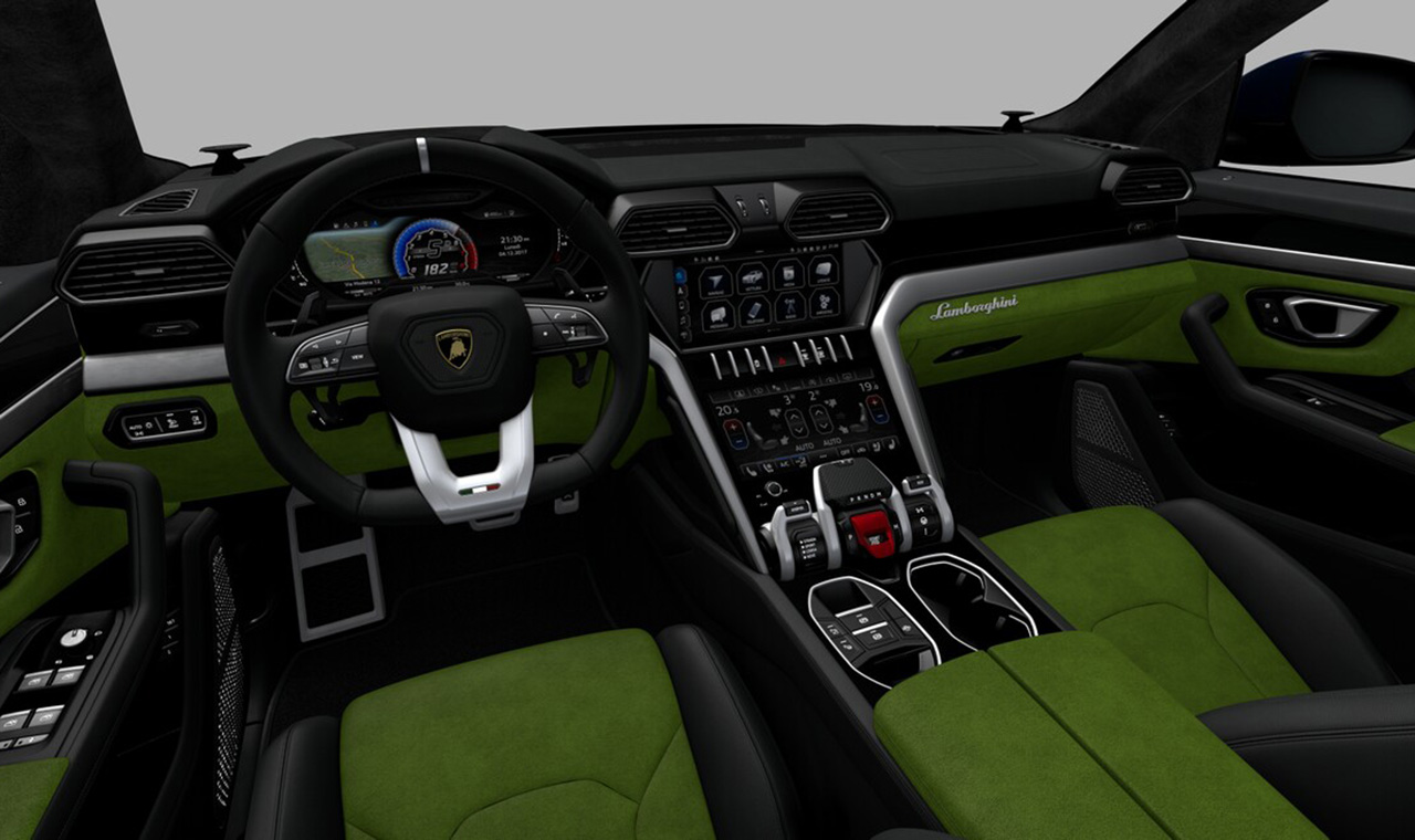 configurez votre lamborghini urus photo 4 l 39 argus. Black Bedroom Furniture Sets. Home Design Ideas