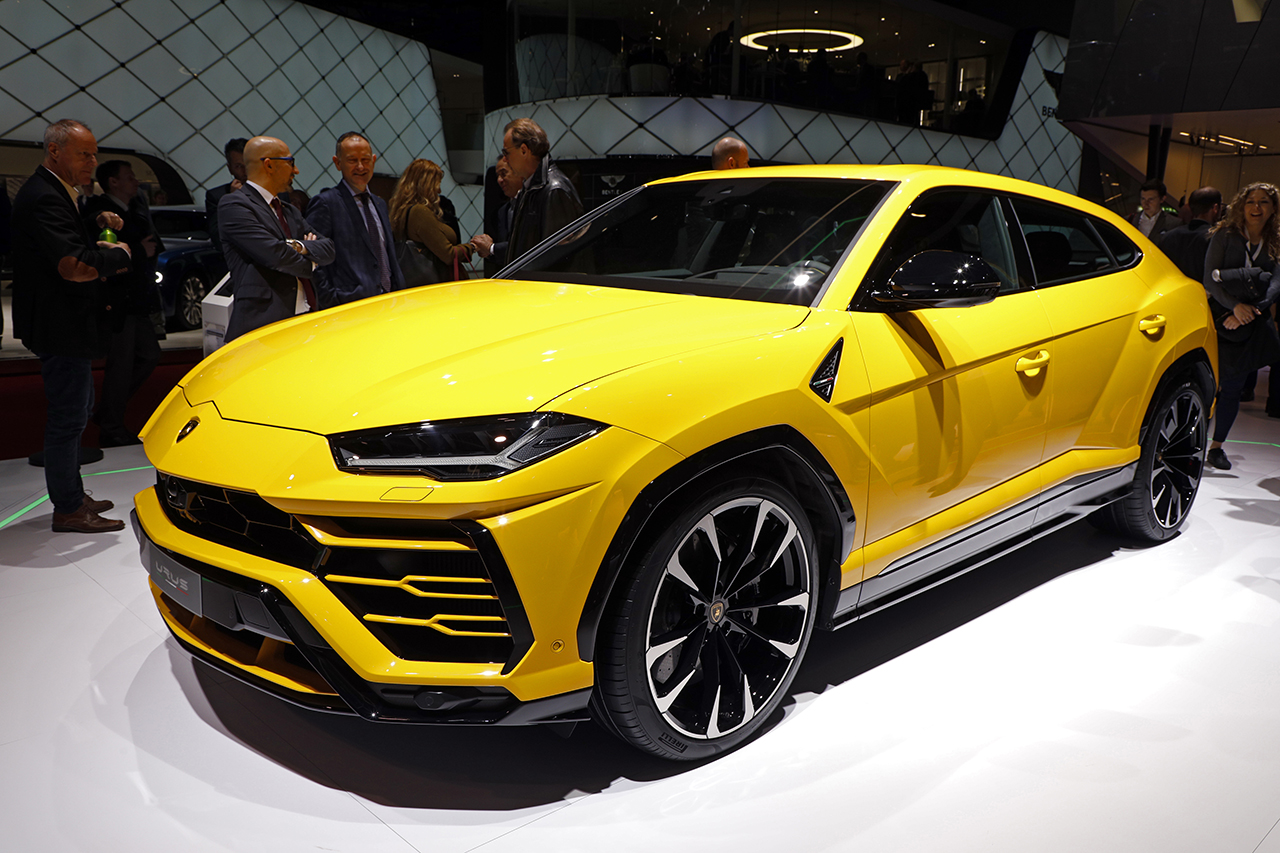 les nouveaux suv du salon de gen ve 2018 lamborghini urus l 39 argus. Black Bedroom Furniture Sets. Home Design Ideas
