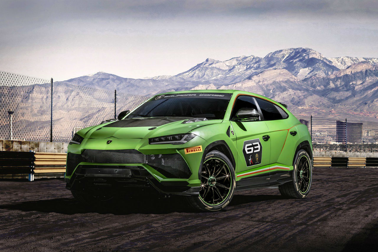 lamborghini urus st x concept des courses de suv d s 2020 photo 1 l 39 argus. Black Bedroom Furniture Sets. Home Design Ideas