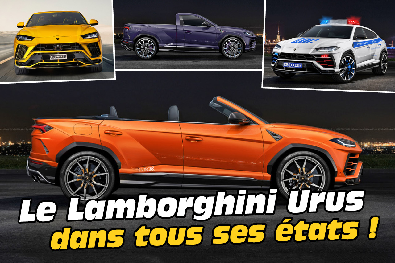 les plus belles transformations du lamborghini urus photo 1 l 39 argus. Black Bedroom Furniture Sets. Home Design Ideas