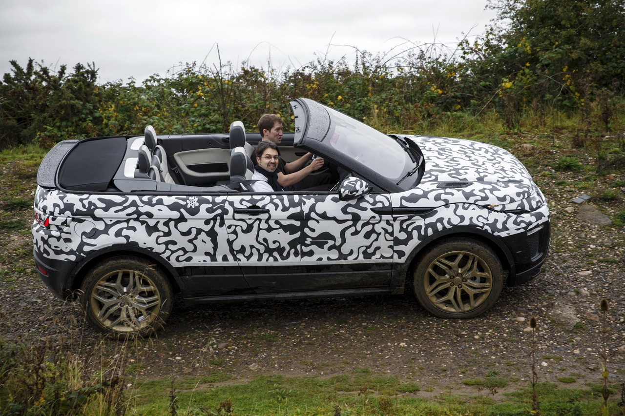 land rover evoque cabriolet 2016 l 39 bord en. Black Bedroom Furniture Sets. Home Design Ideas