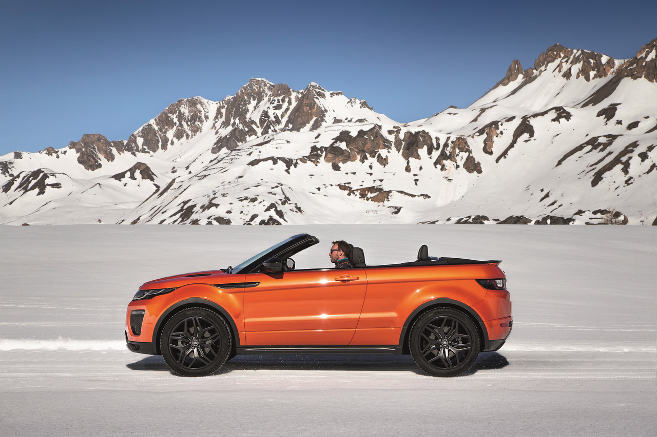 prix land rover evoque cabriolet 17000 de plus que l. Black Bedroom Furniture Sets. Home Design Ideas