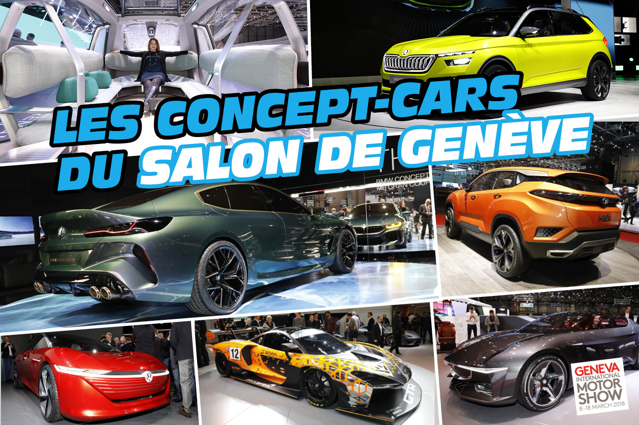 En images les concept cars du salon de gen ve 2018 photo 1 l 39 argus - Concept salon de the ...