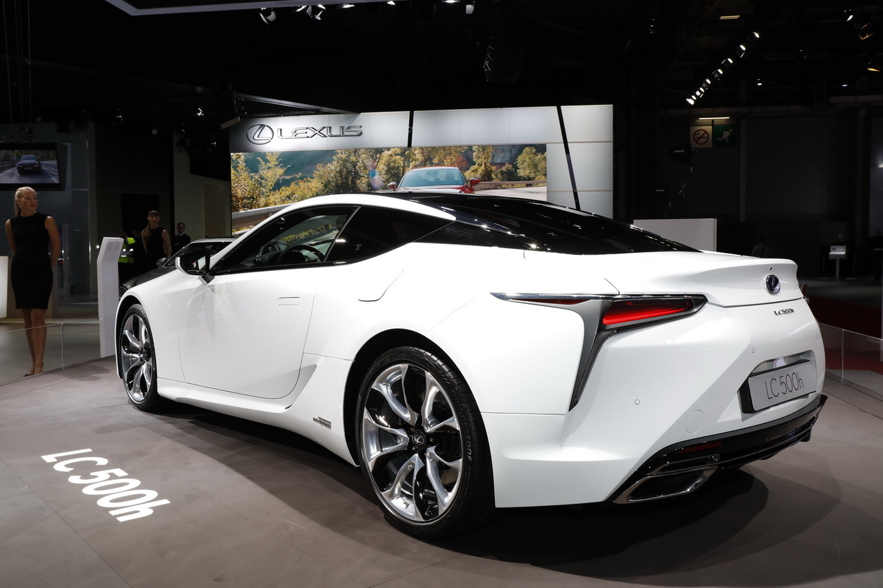 mondial auto 2016 lexus lc 500h l 39 hybride est l photo 4 l 39 argus. Black Bedroom Furniture Sets. Home Design Ideas