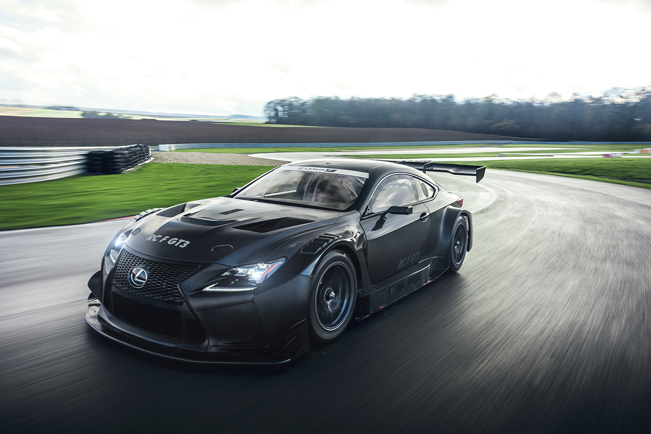 Lexus RC F GT3 : la version 2017 sera au salon de Genève