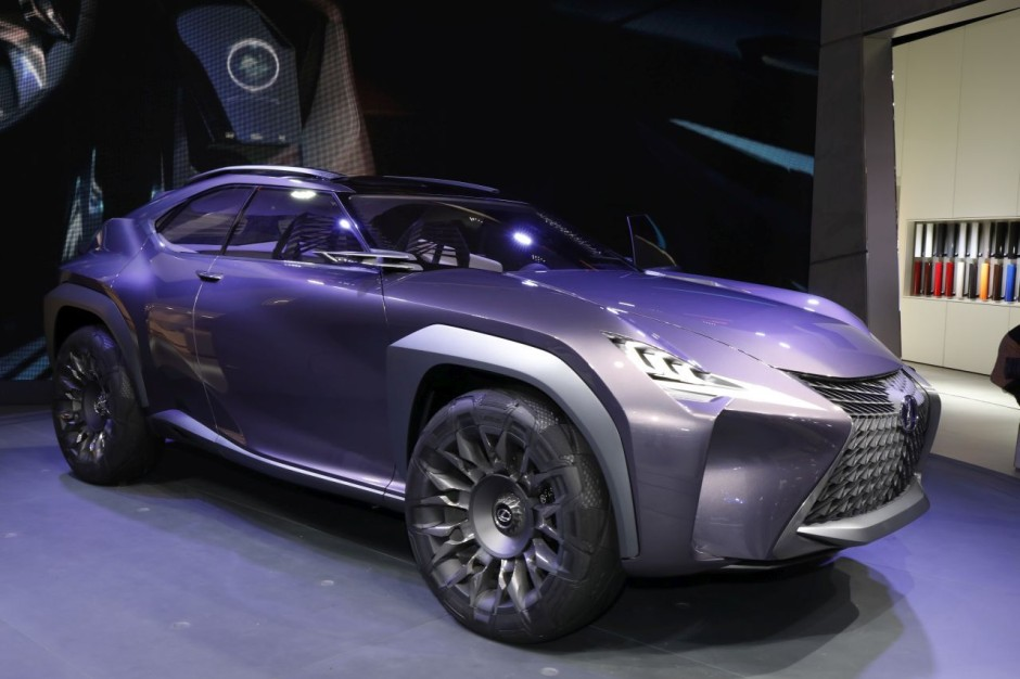 lexus ux concept un suv compact de luxe en filigrane photo 6 l 39 argus. Black Bedroom Furniture Sets. Home Design Ideas