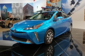 toyota prius restylée salon los angeles 2018