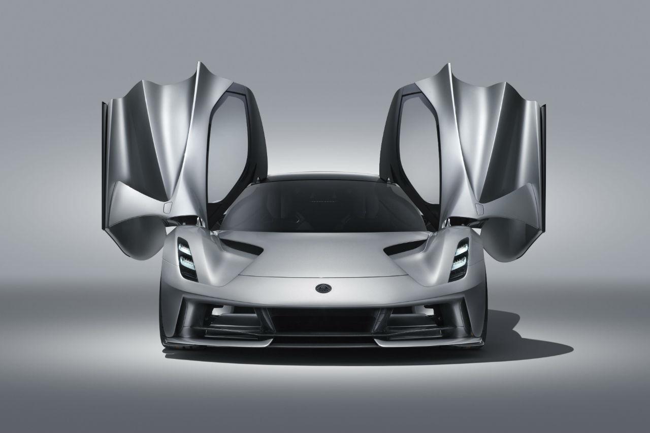 Lotus Evija: une hypercar électrique de 2000 ch