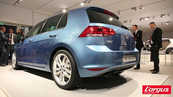 Mondial de l'auto 2012 : Photos Volkswagen Golf