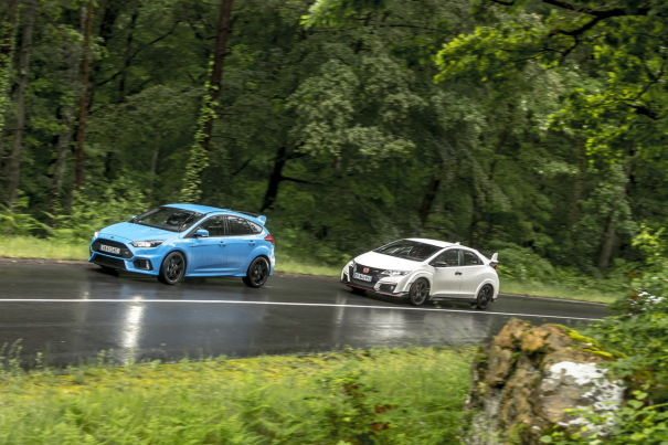 Ford Focus RS (janvier 2016)