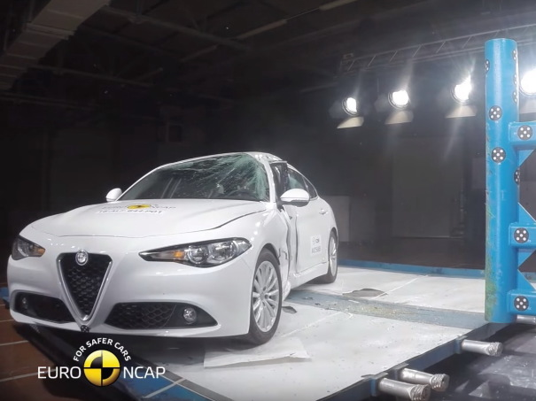 crash test euroncap alfa romeo giulia 2016