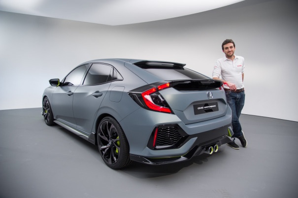 Honda Civic : d�couverte du concept Civic Hatchback en vid�o