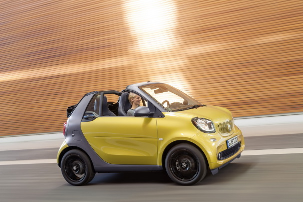 profil smart fortwo cabrio jaune 2016. Black Bedroom Furniture Sets. Home Design Ideas