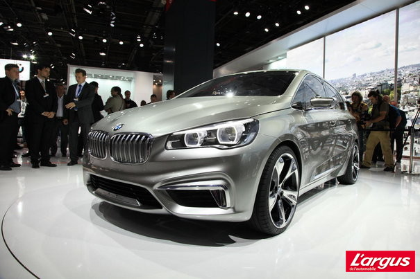 Mondial de Paris Bmw Active Tourer Sc�nic sauce BMW