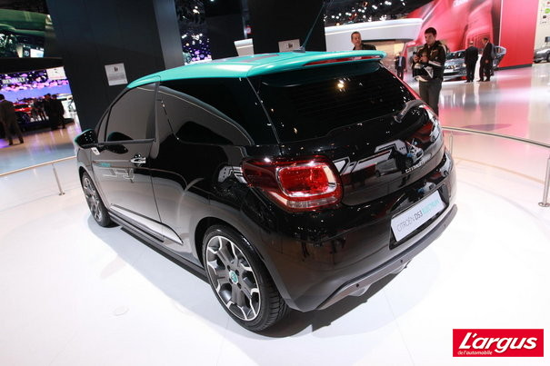 Mondial de l'auto 2012 : Photos Citroen DS3 Electrum