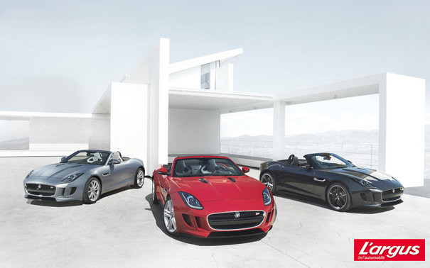 Mondial de l'auto 2012 : Photos Jaguar F-Type