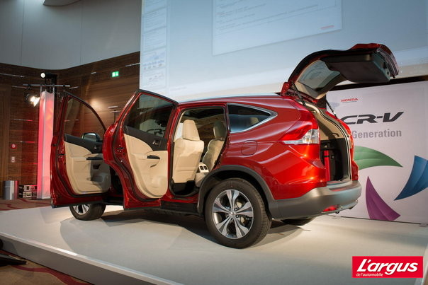 Mondial de l'auto 2012 : Photos Honda CR-V