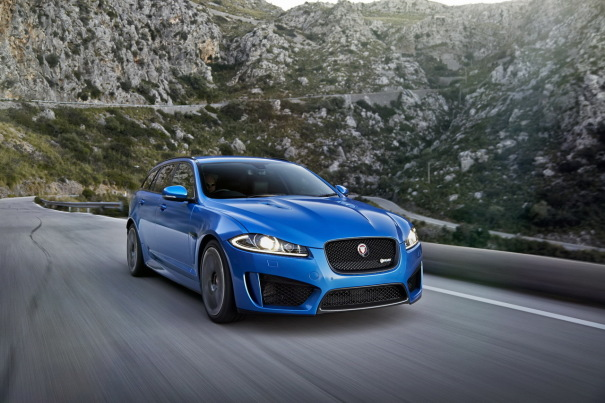 Jaguar XFR-S Sportbrake (2014) : break surpuissant de 550 ch