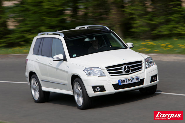 avis mercedes benz classe glk i x204. Black Bedroom Furniture Sets. Home Design Ideas