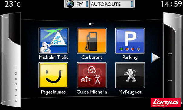 Mondial de Paris Peugeot lance le Connect Apps sur la 208