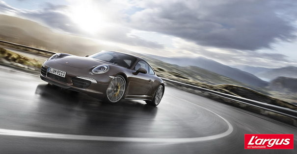 Mondial de l'auto 2012 : Photos Porsche 911 Coupe