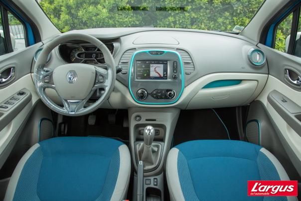 Renault captur - Interieur renault captur ...