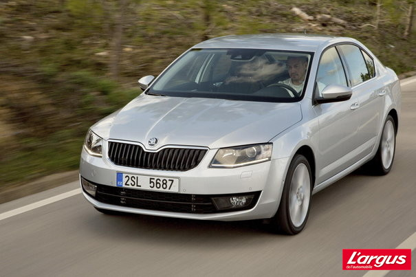 skoda octavia une familiale accomplie l 39 argus. Black Bedroom Furniture Sets. Home Design Ideas