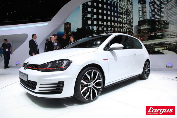 Mondial de Paris Volkswagen Golf Une Golf GTI sans surprise