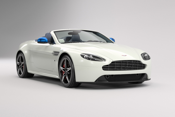 Aston Martin V8 Vantage S : une Great Britain Edition pour Shanghai