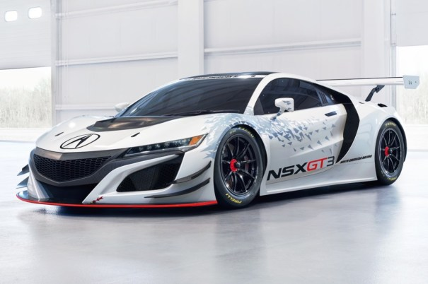 Honda NSX : la version de course GT3 � New York