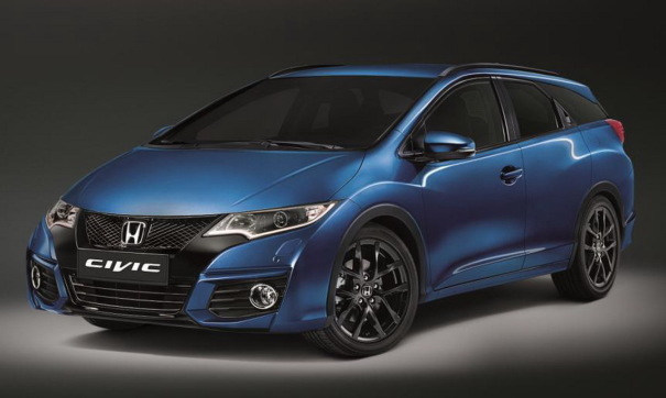 Honda Civic Tourer Style 2016 : nouvelle s�rie sp�ciale du break Civic