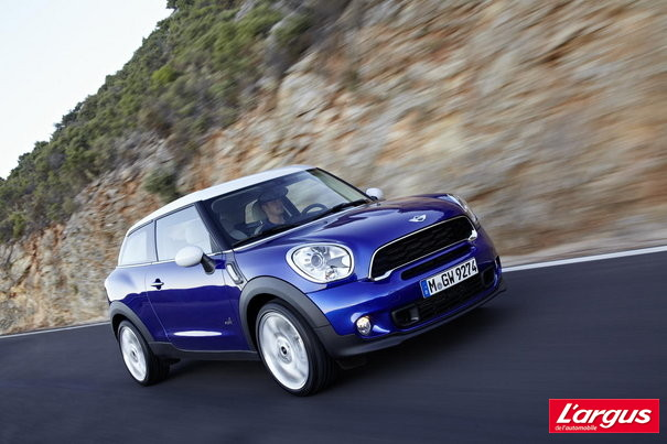 Mondial de l'auto 2012 : Photos Mini Paceman