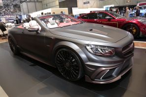 Stand Mansory Genève 2017 Mercedes S Cabrio