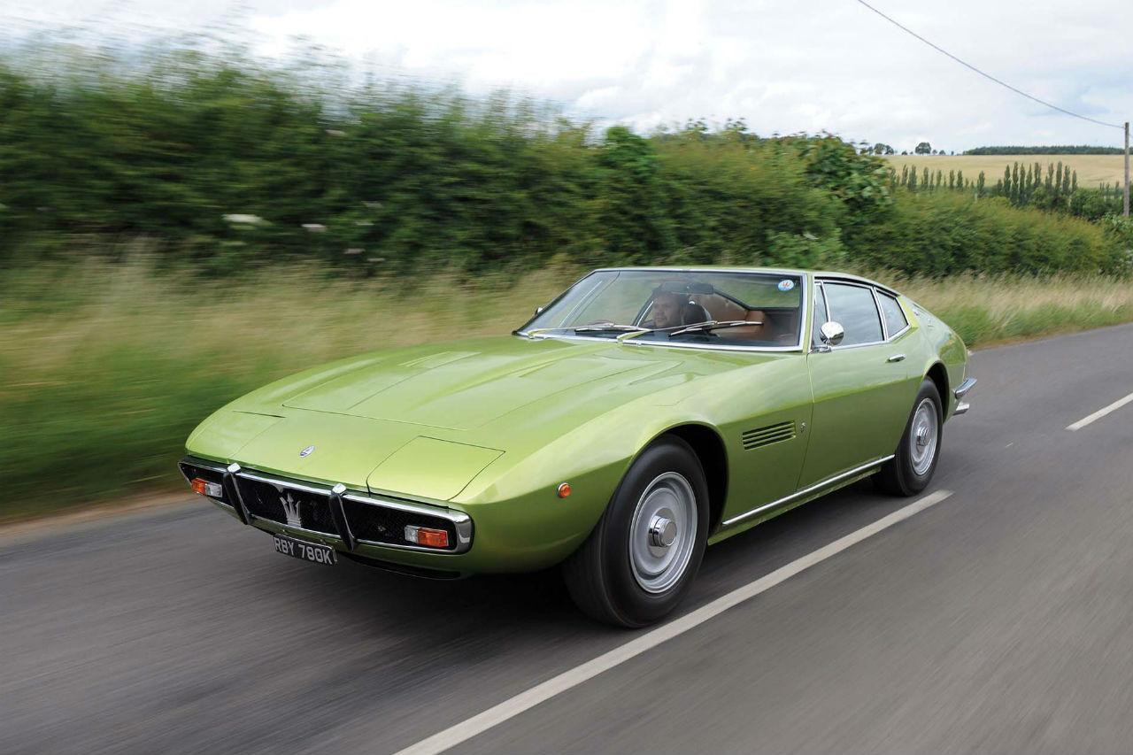 Six Maserati mises en vente par RM Sotheby's à Londres