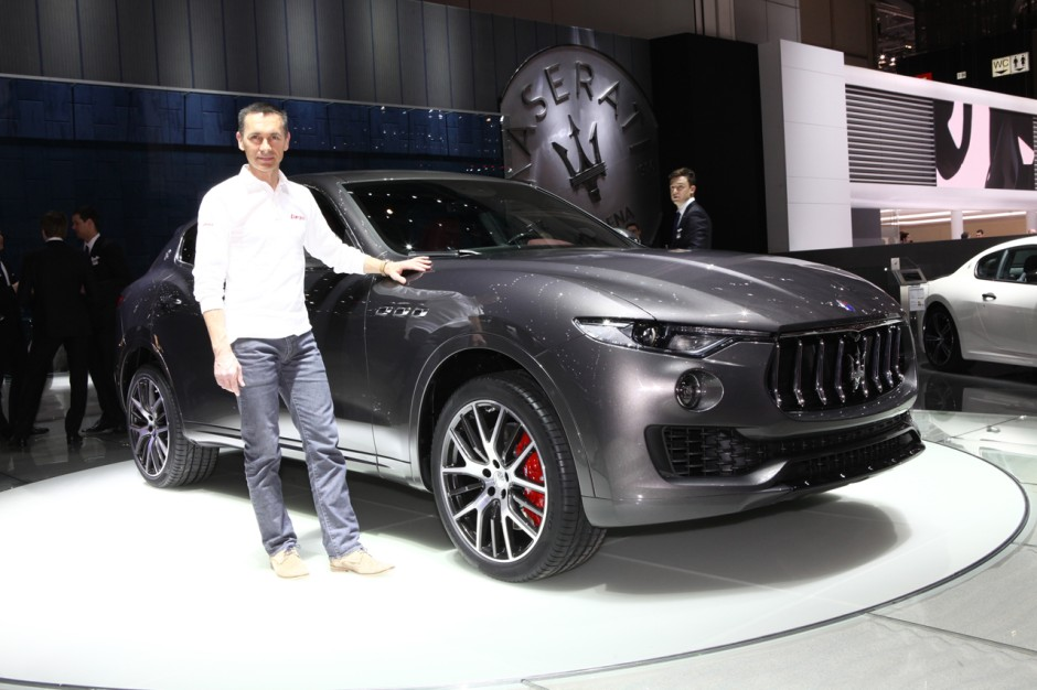maserati levante 2016 d couverte du premier suv maserati gen ve photo 5 l 39 argus. Black Bedroom Furniture Sets. Home Design Ideas